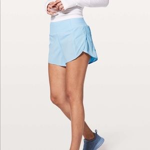 New Lululemon Real Quick Perforated Shorts
